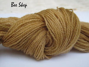 Bee Skep #036 - Wool Thread for Needle Punch and Wool Applique - Red Sand Fibre
