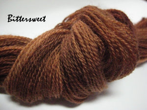 Bittersweet #054 - Wool Thread for Needle Punch and Wool Applique - Red Sand Fibre