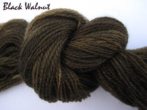 Black Walnut #052 - Wool Thread for Needle Punch and Wool Applique - Red Sand Fibre