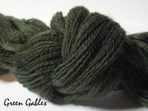 Green Gables #047 - Wool Thread for Needle Punch and Wool Applique - Red Sand Fibre