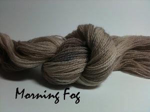 Morning Fog #030 - Wool Thread for Needle Punch and Wool Applique - Red Sand Fibre