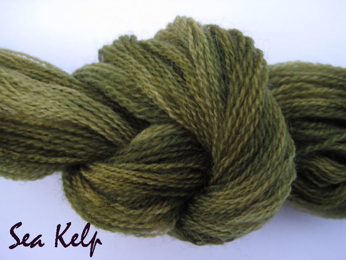 Sea Kelp #050 - Wool Thread for Needle Punch and Wool Applique - Red Sand Fibre