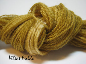 Wheat Fields #033 - Wool Thread for Needle Punch and Wool Applique - Red Sand Fibre