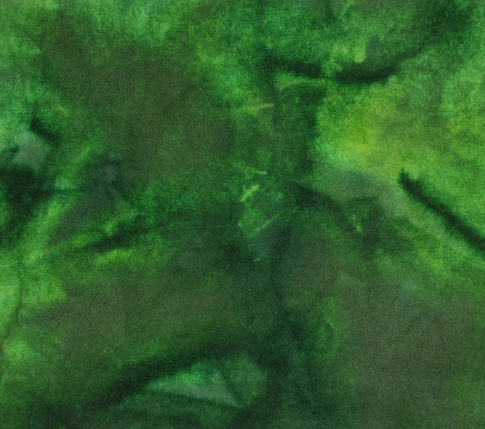Hand Dyed Studio Cloth - BONSHAW HILLS - Shades of Green -  Wool Fabric for Rug Hooking and Wool Applique - RSS298