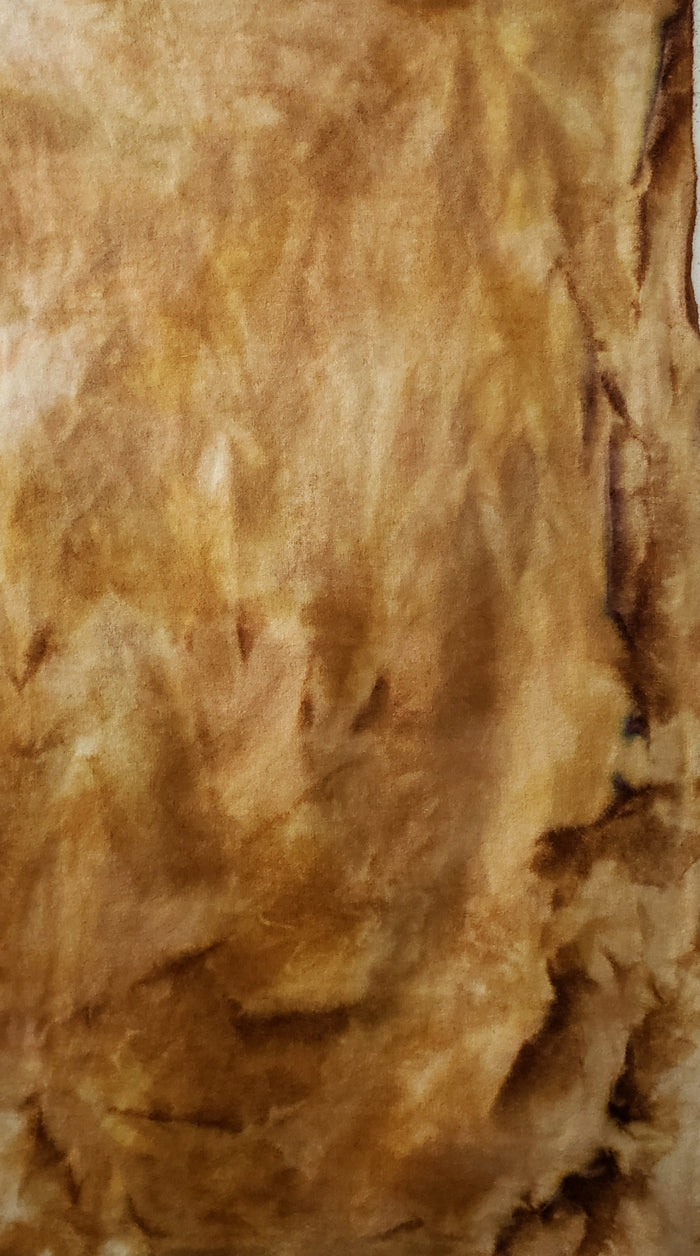 Hand Dyed Studio Cloth - ISLAND SAND - Shades of Caramel, Pink, Beige and Cream -  Wool Fabric for Rug Hooking and Wool Applique - RSS208