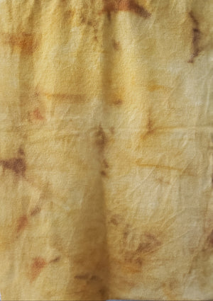 Hand Dyed Studio Cloth - MEADOWLARK -  Yellow - Wool Fabric for Rug Hooking and Wool Applique - RSS120