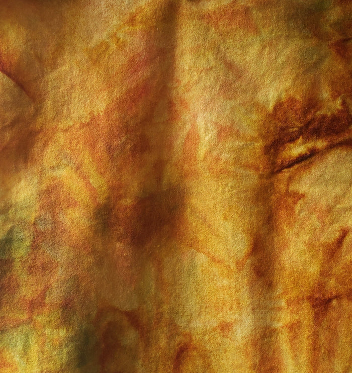 Hand Dyed Studio Cloth - OCTOBER - Wool Fabric for Rug Hooking and Wool Applique - RSS154-3