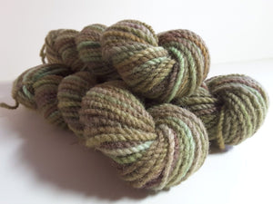RSS134 - Forest Path - PEI Collection - Hand Dyed Worsted Yarn for Rug Hooking