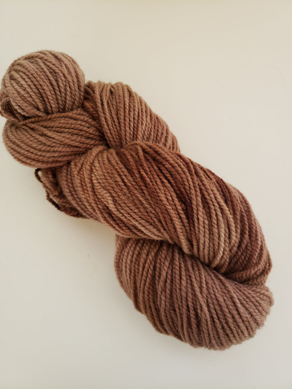 HOT COCOA-  Hand Dyed Shades of Brown Worsted Yarn for Rug Hooking - RSS258