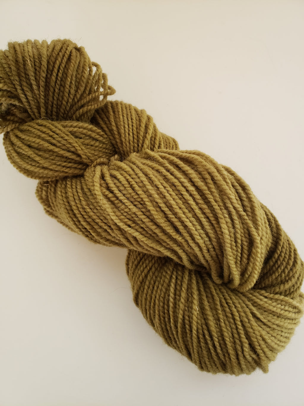 JOYEUSE NOEL-  Hand Dyed Shades of Green Worsted Yarn for Rug Hooking - RSS261