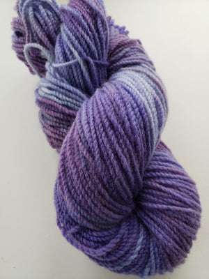 LILAC -  Hand Dyed Purple Worsted Yarn for Rug Hooking - RSS166