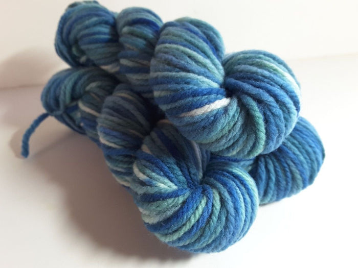RSS129 - Ocean Breeze - PEI Collection - Hand Dyed Worsted Yarn for Rug Hooking