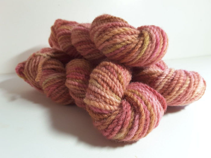 RSS133 - Peony Petals - PEI Collection - Hand Dyed Worsted Yarn for Rug Hooking
