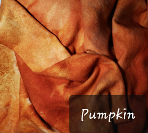 RSS151-3 - PUMPKIN - Wool Fabric Hand Dyed