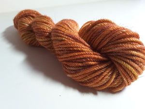 RSS139 - Red Fox - PEI Collection - Sparkly Hand Dyed Yarn for Rug Hooking