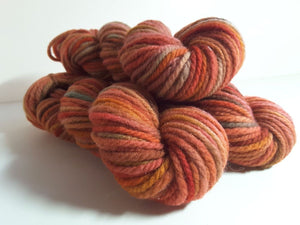 RSS131 - Red Maple - PEI Collection - Hand Dyed Worsted Yarn for Rug Hooking