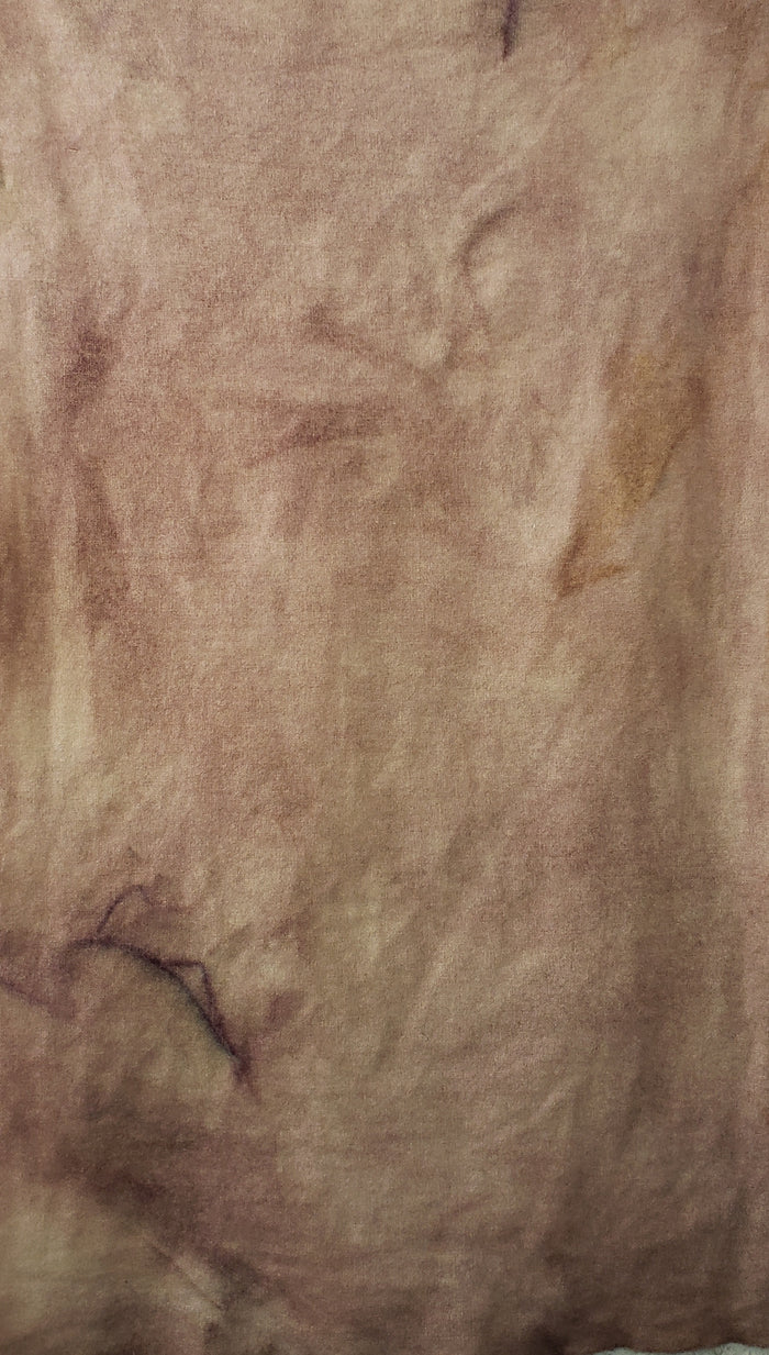 Hand Dyed Studio Cloth - SHY BLUSH - Shades of Pink and Lavender -  Wool Fabric for Rug Hooking and Wool Applique - RSS209