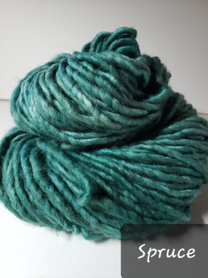RSS152-2 - SPRUCE - Hand Dyed Chunky Yarn for Rug Hooking
