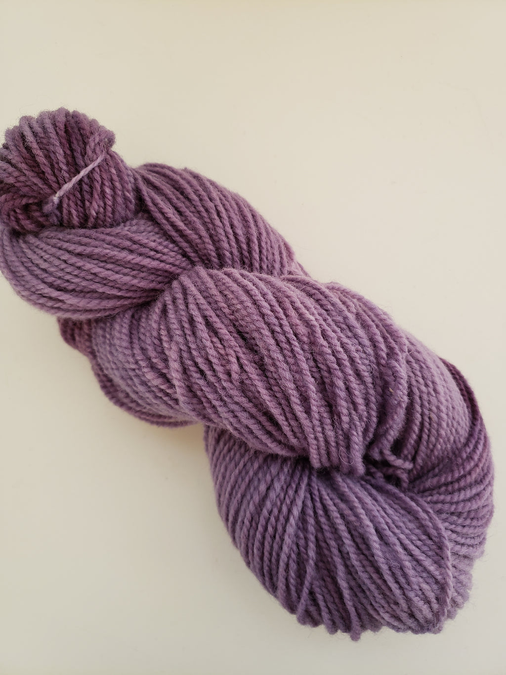 SUGAR PLUM-  Hand Dyed Shades of Purple Worsted Yarn for Rug Hooking - RSS262