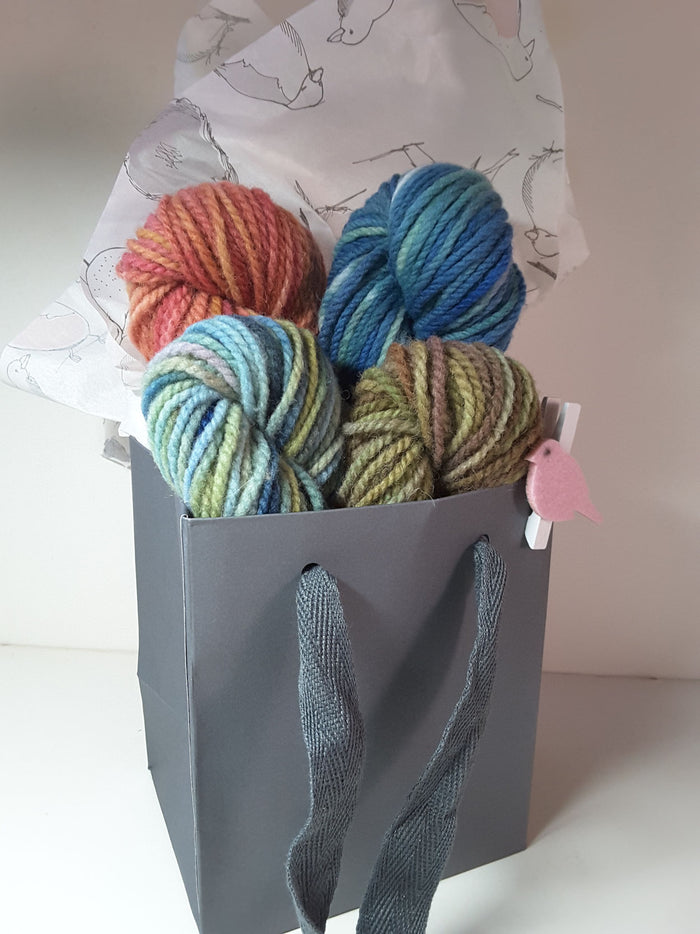 RSS128 - PEI Collection B - Hand Dyed Worsted Yarn for Rug Hooking