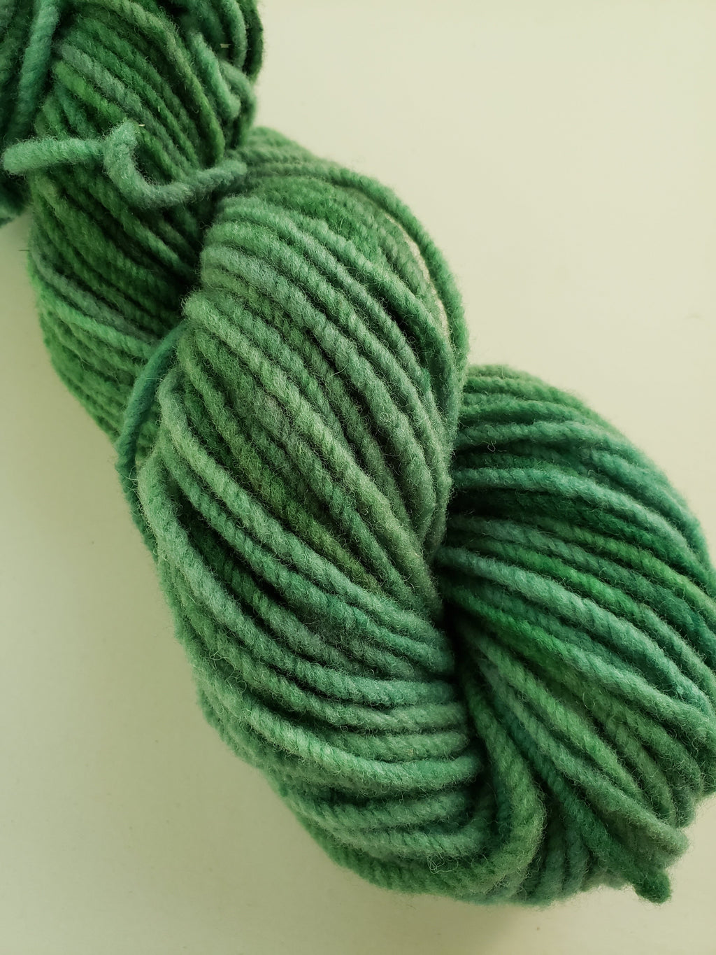 WETLANDS  -  Hand Dyed Shades of Green, Blue-Green Worsted/Aran Yarn for Rug Hooking - RSS185