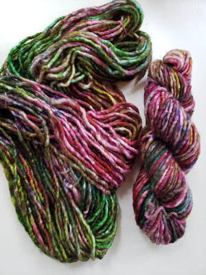 WILDFLOWER BOUQUET - Hand Dyed Multi-Colour Chunky Yarn for Rug Hooking - RSS195