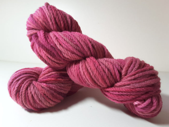 RSS136 - Wild Roses - PEI Collection - Hand Dyed Worsted Yarn for Rug Hooking