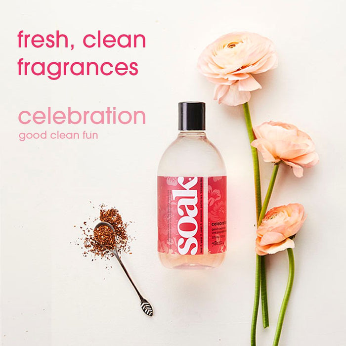 SOAK WASH  -  Celebration - Travel Size 90ml/3oz 18+ washes