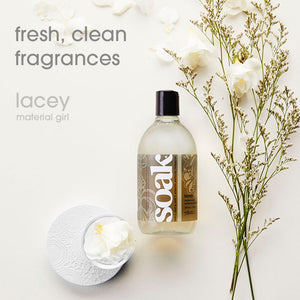 SOAK WASH  -  Lacey - Travel Size 90ml/3oz 18+ washes