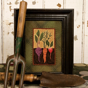 Vegetable Garden #308 - Punch Needle Pattern