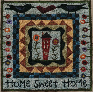 Home Sweet Home #627 - Punch Needle Pattern