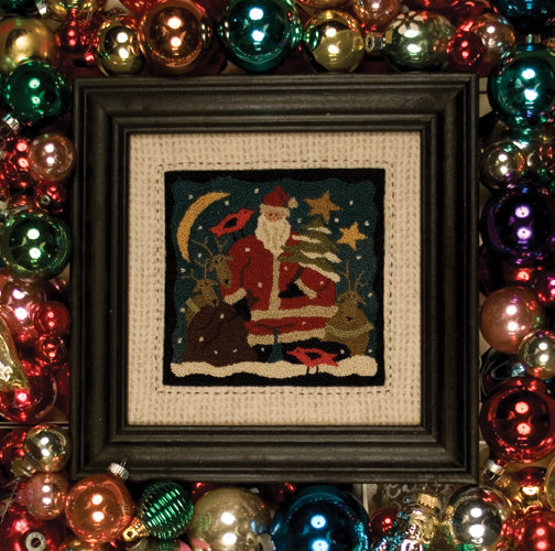 Santa's Helpers #672 - Punch Needle Pattern