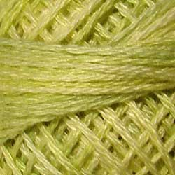 05430 Subdued Lime Hand Dyed Cotton 3 Strand Valdani