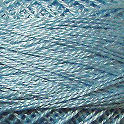 205 Soft Sky Blue Hand Dyed Cotton 3 Strand Valdani