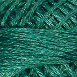 315 Subtle Teal Hand Dyed Cotton 3 Strand Valdani