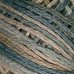 JP11 Heavenly Hue Hand Dyed Cotton 3 Strand Valdani Muddy Monet