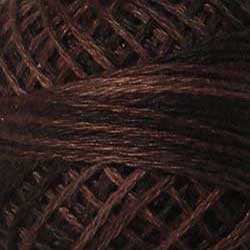 P12 Brown Hand Dyed Cotton 3 Strand Valdani Vintage