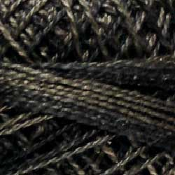 0501 Ebony Almond Hand Dyed Cotton 12wt Valdani