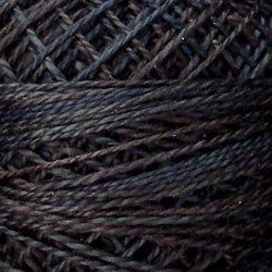 0511 Black Sea Hand Dyed Cotton 12wt Valdani