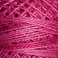 0522 Raspberry Hand Dyed Cotton 12wt Valdani