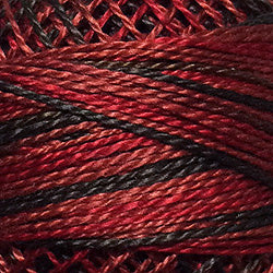 0523 Cherry Basket Hand Dyed Cotton 12wt Valdani