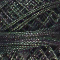 0536 Dark Spruce Hand Dyed Cotton 12wt Valdani