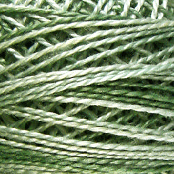 0556 Wintermint Green Hand Dyed Cotton 12wt Valdani