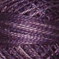 0592 Primitive Purple Hand Dyed Cotton 12WT Valdani