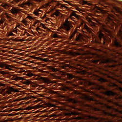 1641 Red Brown Light Hand Dyed Cotton 12wt Valdani