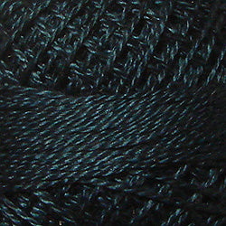 42 Deep Blue Teal Hand Dyed Cotton 12wt Valdani