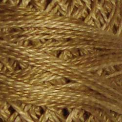H205 Ancient Gold Hand Dyed Cotton 12wt Valdani Heirloom