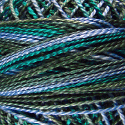 M30 Deep Waters Hand Dyed Cotton 12wt Valdani