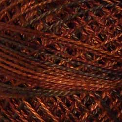 M90 Chocolate Brownies Hand Dyed Cotton 12wt Valdani
