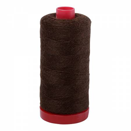 Mission Brown 8361 - Aurifil Wool Thread 12wt for Wool Applique